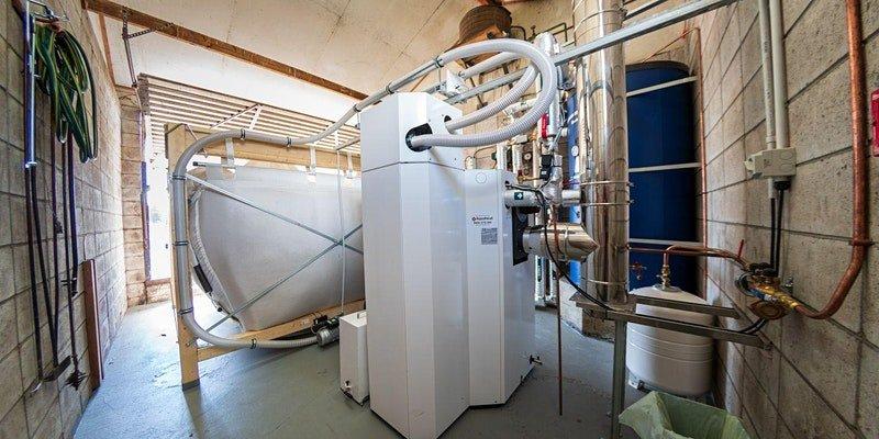 Pellt Boiler installation at Murupara